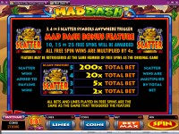 Mad Dash Slot