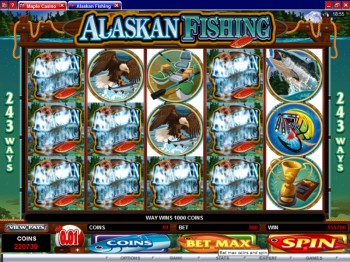 Alaskan Fishing at Maple