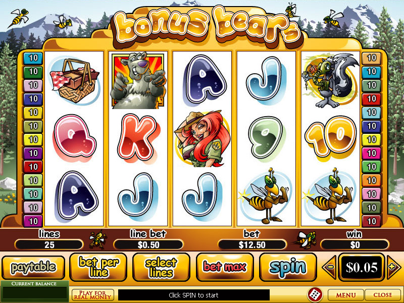 bonus free slots