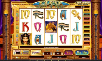 Cleo: Queen of Egypt Slot