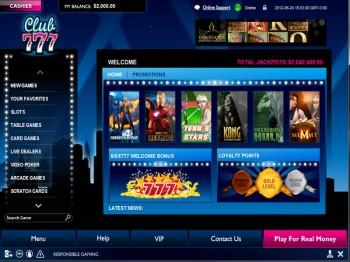 Club 777 Casino Lobby