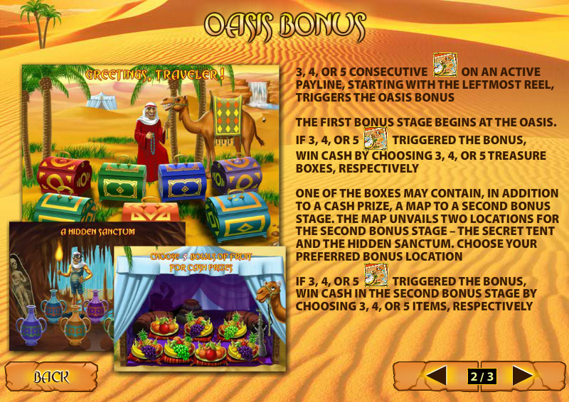 Play Desert Treasure II Online Slots at Casino.com