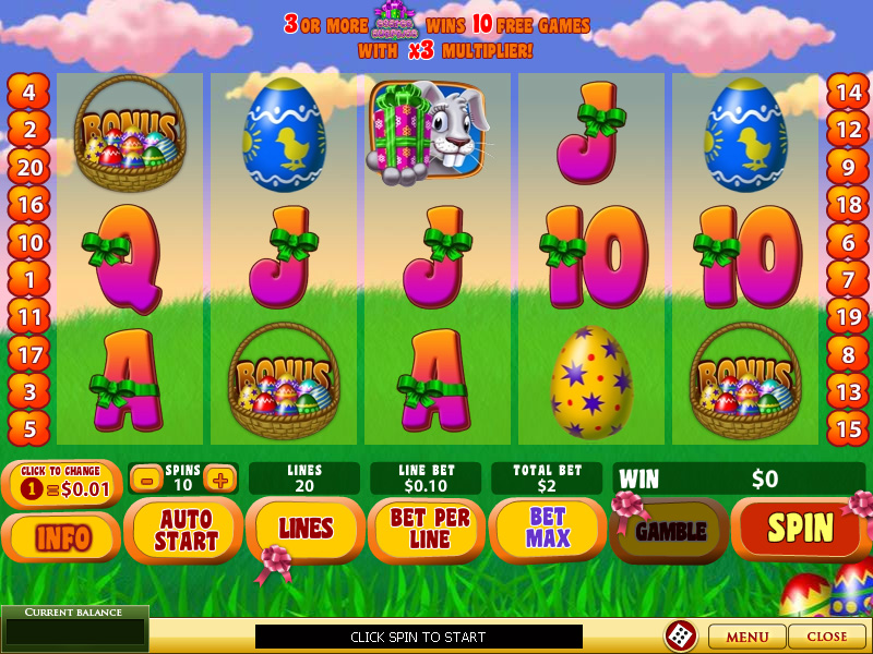 Play Easter Surprise Slots Online at Casino.com Canada