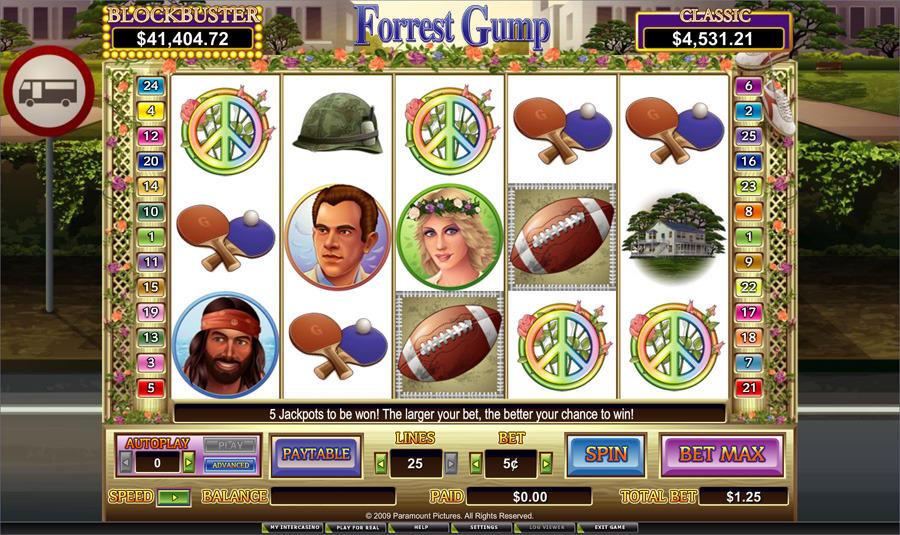 Forrest Gump Slot - Win Big Playing Online Casino Games