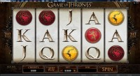 Game of Thrones Slot 1