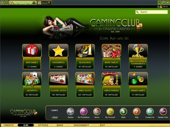 Gaming Club Casino Games