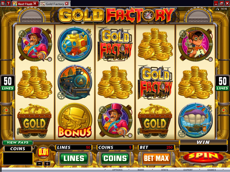 free slot machine factory
