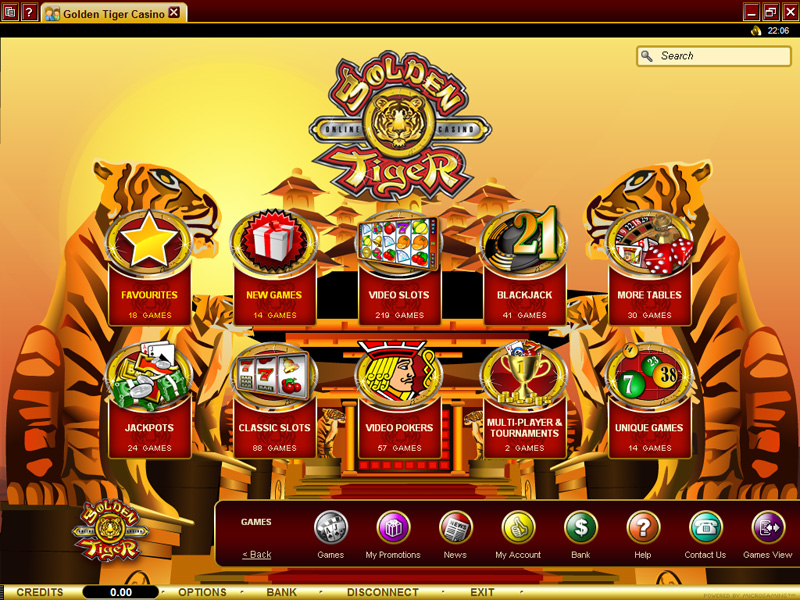 online slots at golden tiger casino