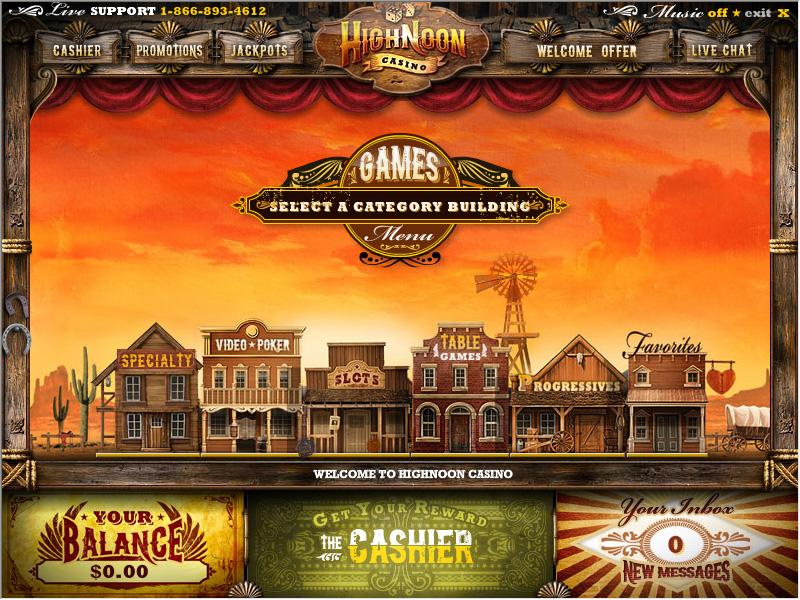 Western casino bet in the casino
