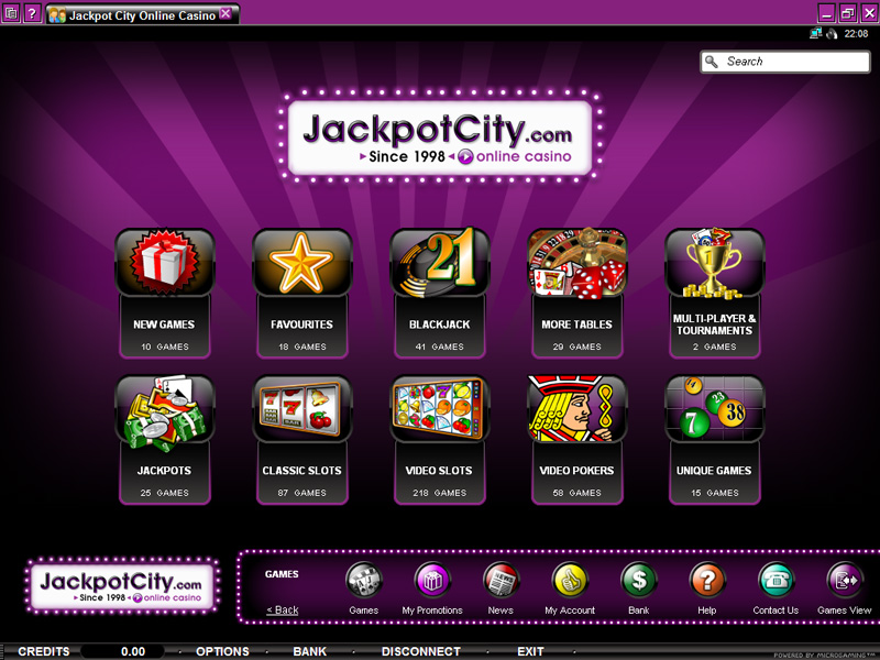 online casino city casino games