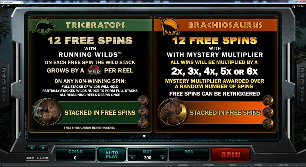 Jurassic Park Slots - New IGT Slots Game Jurassic Park