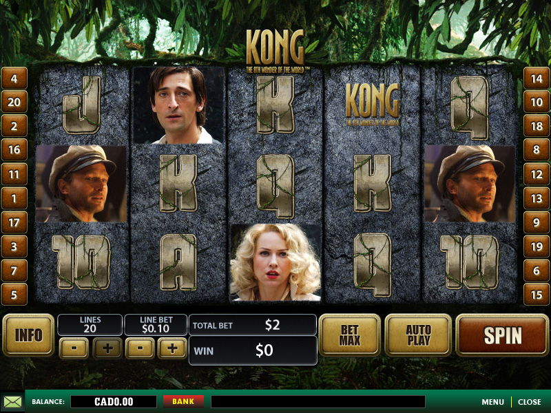 Free online casino games king kong