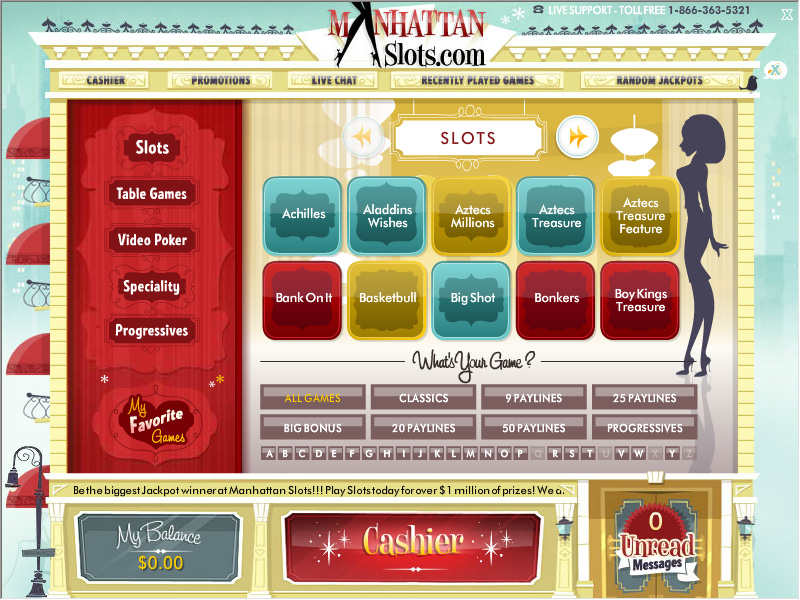 Manhattan Slots Casino Review and User Ratings