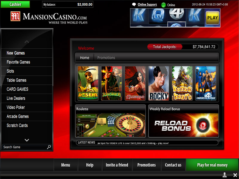which online casino pays the best ra game