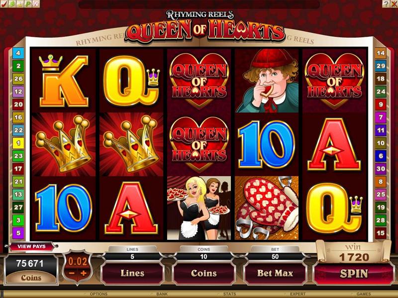 online casino free spins queen of hearts online spielen