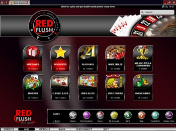 Red Flush Casino Games