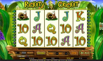 Rickety Cricket Slot