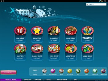 Roxy Palace Casino Games