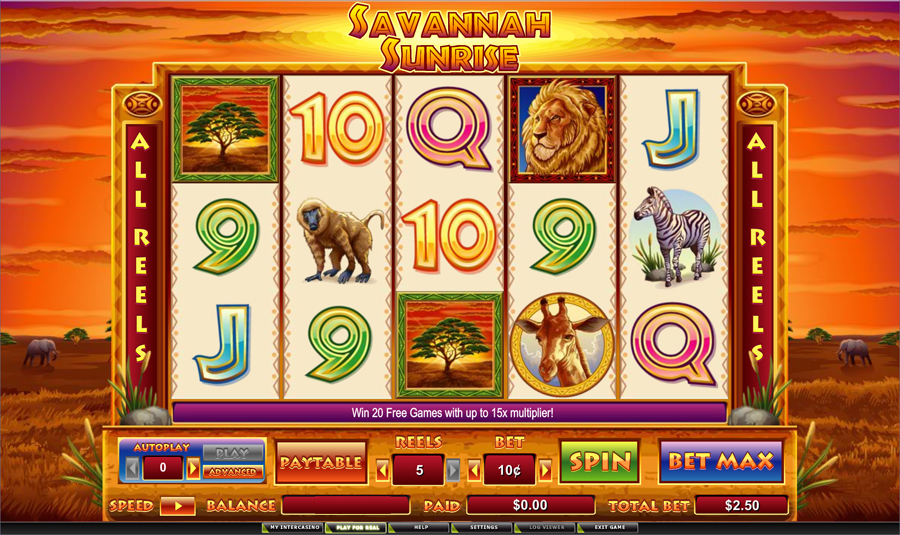 Wild Savannah Slots