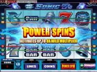 Sonic Sevens Slot