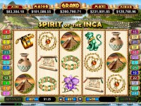 Spirit of the Inca Slot 1
