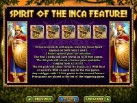 Spirit of the Inca Slot 3