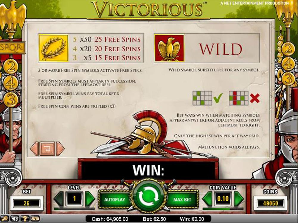 online casino site victorious spiele
